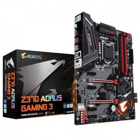 Płyta Gigabyte GA-Z370-AORUS-Gaming 3 /Z370/DDR4/SATA3/M.2/USB3.1/PCIe3.0/s.1151/ATX
