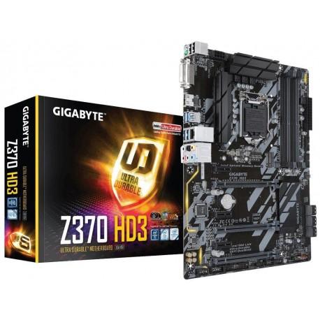 Płyta Gigabyte GA-Z370-HD3 /Z370/DDR4/SATA3/M.2/USB3.0/PCIe3.0/s.1151/ATX