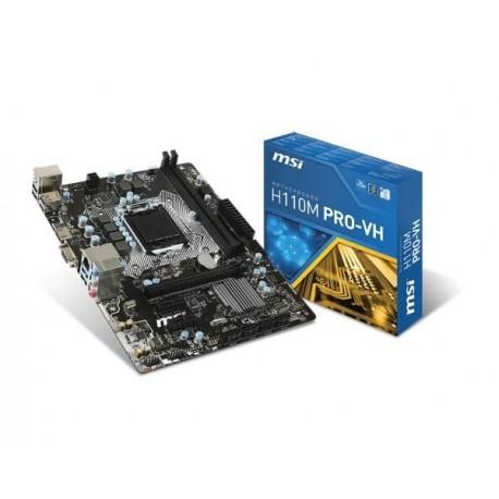 Płyta MSI H110M PRO-VH /H110/DDR4/SATA3/USB3/PCIe3.0/s.1151/mATX