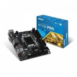 Płyta MSI H110I PRO /H110/DDR4/SATA3/M.2/USB3.1/PCIe3.0/s.1151/mITX