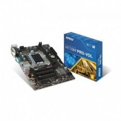 Płyta MSI H110M PRO-VDL /H110/DDR4/SATA3/USB3.0/COM/PCIe3.0/s.1151/mATX