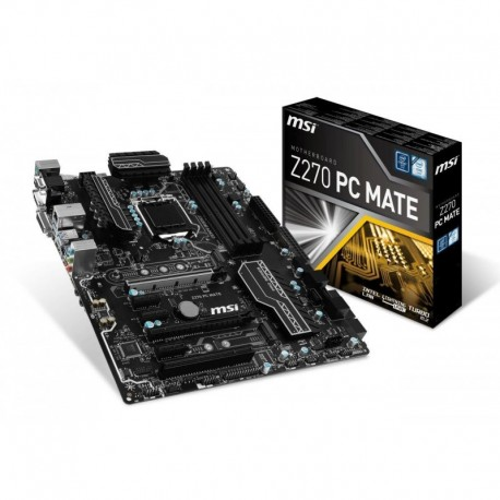Płyta MSI Z270 PC MATE /Z270/DDR4/SATA3/M.2/USB3.1/PCIe3.0/s.1151/ATX