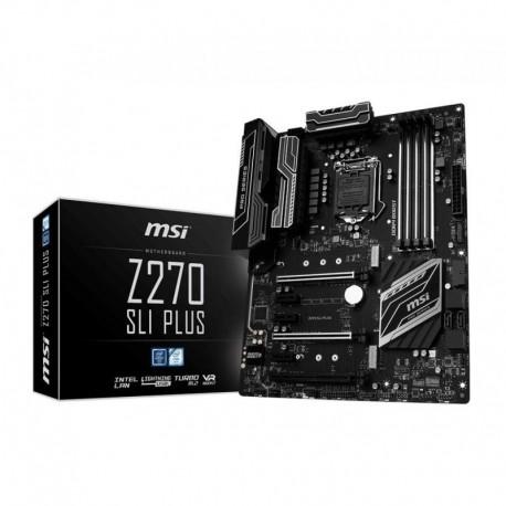 Płyta MSI Z270 SLI PLUS /Z270/DDR4/SATA3/M.2/USB3.1/PCIe3.0/s.1151/ATX