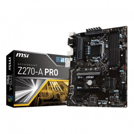 Płyta MSI Z270-A PRO /Z270/DDR4/SATA3/M.2/USB3.0/PCIe3.0/s.1151/ATX