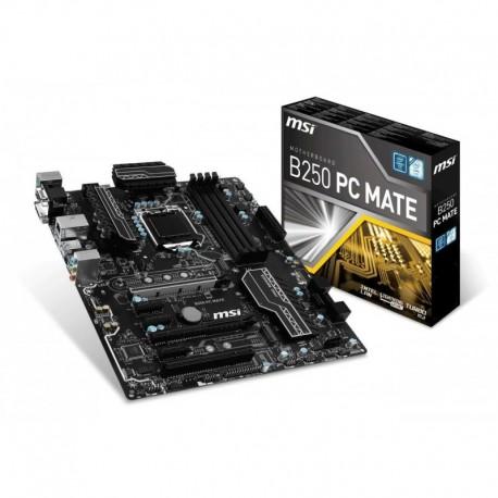 Płyta MSI B250 PC MATE /B250/DDR4/SATA3/M.2/USB3.1/PCIe3.0/s.1151/ATX