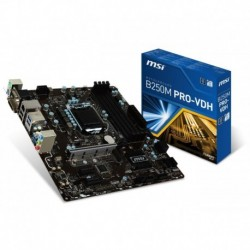 Płyta MSI B250M PRO-VDH /B250/DDR4/SATA3/M.2/USB3.0/PCIe3.0/s.1151/mATX