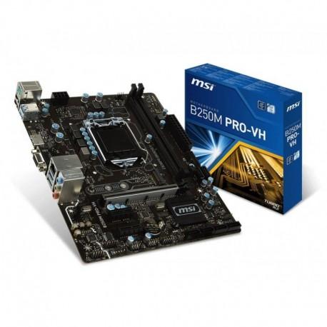 Płyta MSI B250M PRO-VH /B250/DDR4/SATA3/M.2/USB3.0/PCIe3.0/s.1151/mATX