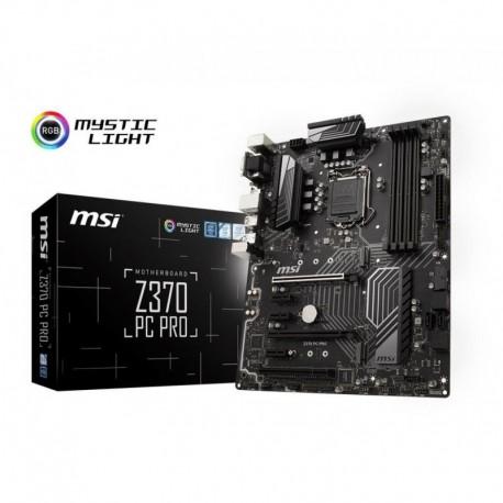 Płyta MSI Z370 PC PRO /Z370/DDR4/SATA3/M.2/USB3.1/PCIe3.0/s.1151/ATX