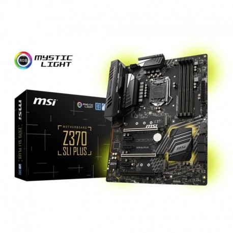 Płyta MSI Z370 SLI PLUS /Z370/DDR4/SATA3/M.2/USB3.1/PCIe3.0/s.1151/ATX