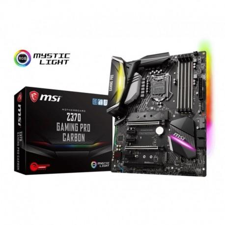 Płyta MSI Z370 GAMING PRO CARBON /Z370/DDR4/SATA3/M.2/USB3.1/WF/BT/PCIe3.0/s.1151/ATX