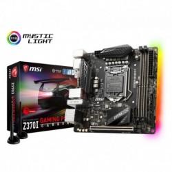 Płyta MSI Z370I GAMING PRO CARBON AC /Z370/DDR4/SATA3/M.2/USB3.1/WF/BT/PCIe3.0/s.1151/mITX