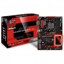 Płyta ASRock Fatal1ty AB350 Gaming K4 /AMD B350/DDR4/SATA3/M.2/USB3.0/PCIe3.0/AM4/ATX