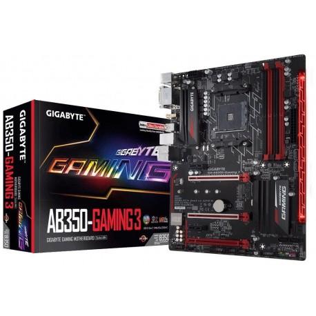 Płyta Gigabyte GA-AB350-Gaming 3 /AMD B350/DDR4/SATA3/M.2/USB3.1/PCIe3.0/AM4/ATX