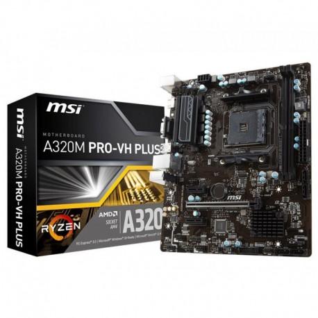 Płyta MSI A320M PRO-VH PLUS /AMD A320/DDR4/SATA3/USB3.0/PCIe3.0/AM4/mATX