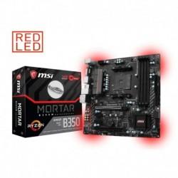 Płyta MSI B350M MORTAR /AMD B350/DDR4/SATA3/M.2/USB3.0/PCIe3.0/AM4/mATX
