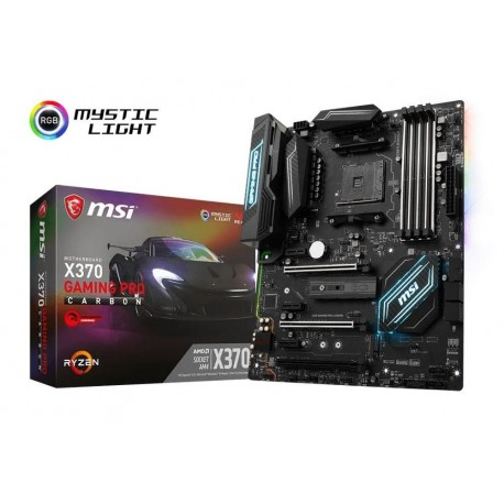 Płyta MSI X370 GAMING PRO CARBON /AMD X370/DDR4/SATA3/M.2/USB3.1/PCIe3.0/AM4/ATX