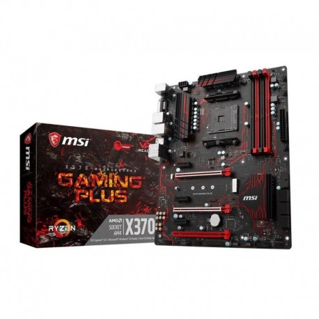 Płyta MSI X370 GAMING PLUS /AMD X370/DDR4/SATA3/M.2/USB3.1/PCIe3.0/AM4/ATX