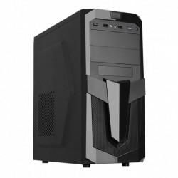 Obudowa Midi ATX Akyga AKY25BK 1xUSB3.0 czarna bez zasilacza