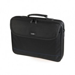TORBA LAPTOP NATEC IMPALA BLACK-BLUE 17,3""