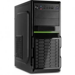 Obudowa INTER-TECH GM-C12 1x USB 3.0, 2x USB 2.0 czarna