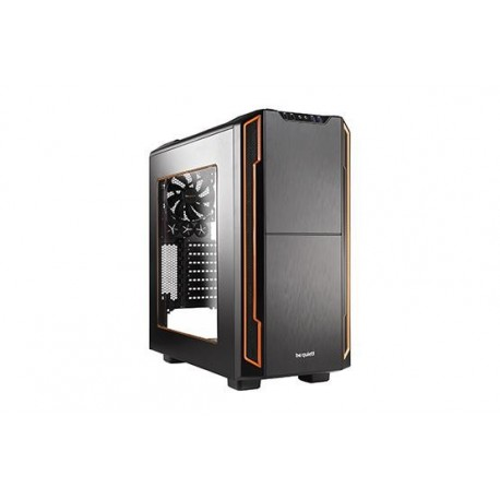 Obudowa be quiet! Silent Base 600 Window ATX Midi Orange bez zasilacza
