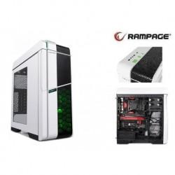 Obudowa Rampage TITAN Plus White  ATX/mATX/mITX 1xUSB 3.0 2xUSB 2.0 Okno Gaming