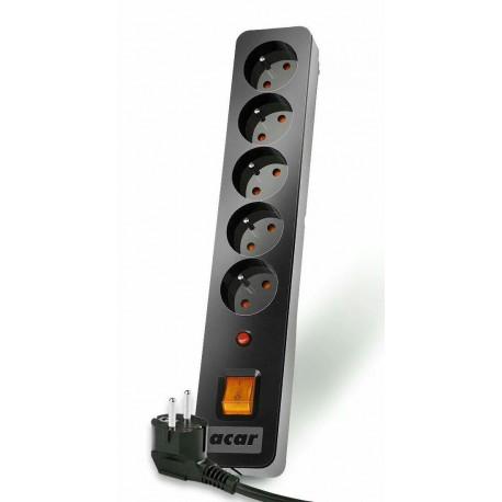 Listwa zasilająca Acar X5 3,0m czarno-szara