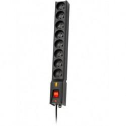 Listwa zasilająca Lestar LXA 816 3m czarna