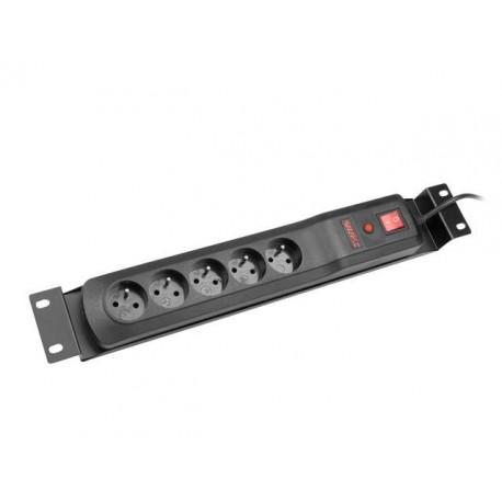 Listwa zasilająca Armac Classic 5A Rack IEC C14 1,5M 5 gniazd czarny