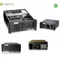 """Obudowa Techly PC ATX Rack 19"""" 4U, czarna I-CASE MP-P4HX-BLK2"""