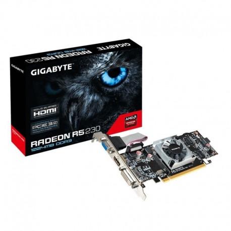 Karta VGA Gigabyte R5 230 1GB DDR3 64bit VGA+DVI+HDMI PCI-E LP