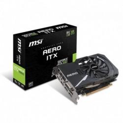 Karta VGA MSI GeForce GTX1060 AERO ITX 6GB OC GDDR5 192bit DVI+2xHDMI+2xDP PCIe3.0
