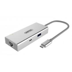 Replikator portów Unitek Y-9117 USB Typ-C
