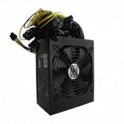 Zasilacz ATX Qoltec 1600W | 80 Plus Gold | Bitcoin Miner