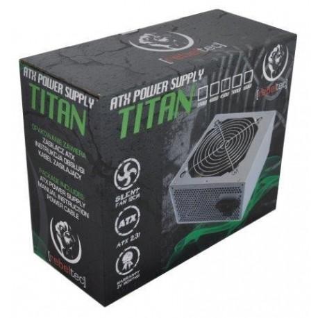 Zasilacz ATX Rebeltec TITAN 700 12cm fan + kabel