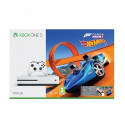 Konsola Microsoft Xbox One S 500GB + Forza Horizon 3 z dodatkiem Hot Wheels