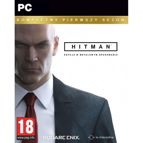 Hitman The Complete First Season (Kompletny Pierwszy Sezon) Steelbook (PC)