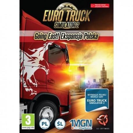 Euro Truck Simulator 2 Going East! Ekspansja Polska (PC)
