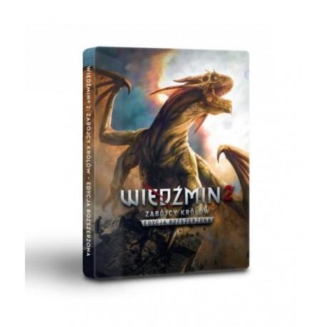 Wiedzmin 2. Edycja Rozszerzona - Edycja 10-Lecia w Steelbook (PC)