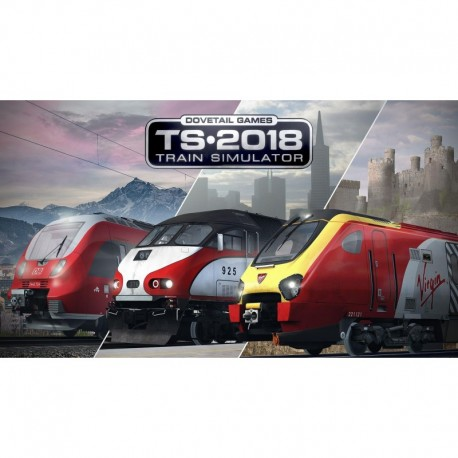 Train Simulator 2018 - Symulator Pociągu 2018 (PC)