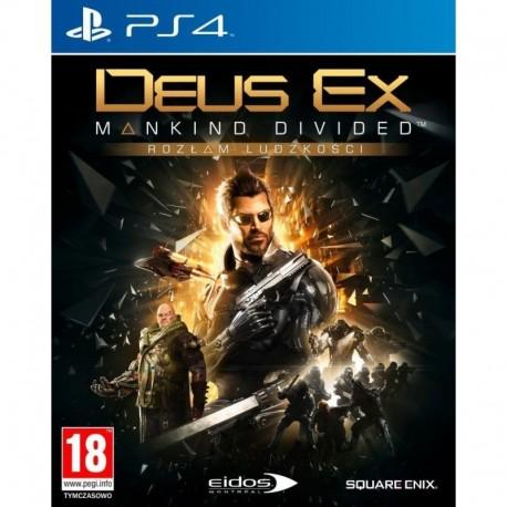 Deus Ex: Mankind Divided (Rozłam ludzkości) D1 Edition (PS4)