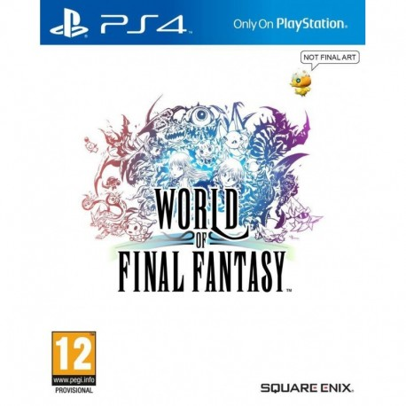World of Final Fantasy Standard Edition (PS4)