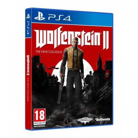 Wolfenstein II The New Colossus (PS4)