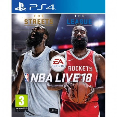 NBA LIVE 18: THE ONE EDITION EA (PS4)