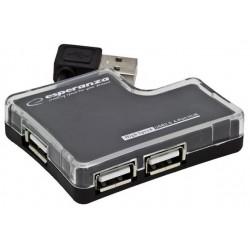 Hub USB 2.0 Esperanza EA124 4 Porty