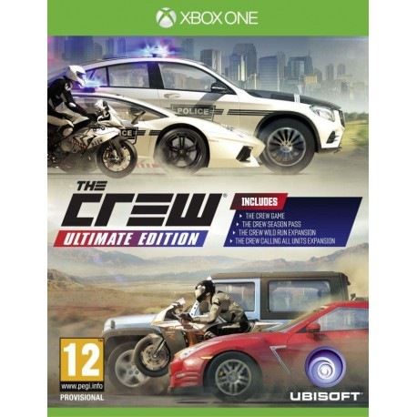 The Crew Ultimate Edition Greatest Hits PCSH (XBOX ONE)