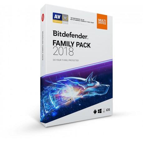 Bitdefender Family Pack 2018