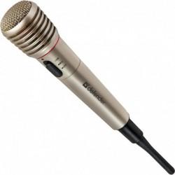 Mikrofon bezprzewodowy DEFENDER MIC-140 KARAOKE metal