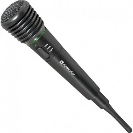 Mikrofon bezprzewodowy DEFENDER MIC-142 KARAOKE czarny