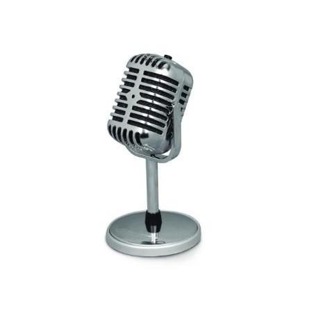 """Mikrofon na statywie Esperanza EH181 """"Stage"""" do PC i notebooka"""